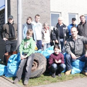 Die Teilnehmer des Umelttages 2011. Aus dem Ortsverein dabei: Andreas Albrecht, Jürgen Kohl und Christoph Welter.