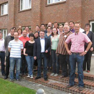 Die Teilnehmer der Kommunalakademie mit Mike Groschek