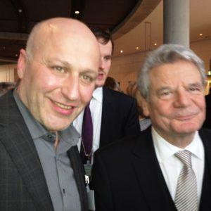 Ibrahim Yetim und Joachim Gauck