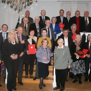 Insgesamt kamen über eintausend Jahre SPD-Mitgliedschaft zusammen