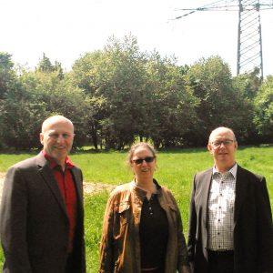 Foto: Ibrahim Yetim, Silvia Rosendahl, Norbert Meesters (von links nach rechts)