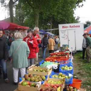 Auf dem Streuobstwiesenfest der SPD Rheinkamp 2008