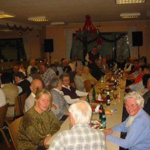 Jahresabschluss und Weihnachtsfeier der AG 60 plus Rheinkamp
