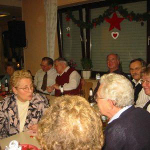 Jahresabschluss und Weihnachtsfeier der AG 60 plus Rheinkamp 2