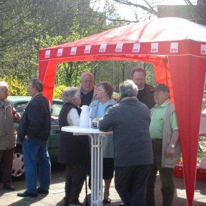 Aktionstag der AG 60 plus der SPD Rheinkamp
