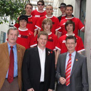 Junges Teams: Die Jusos zum 1. Mai