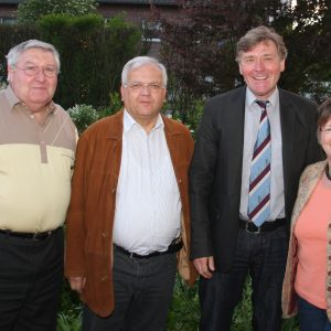 Helmut Ey lädt zum 63. Treffen im Wahlkreis 308 in Meerbeck ein.