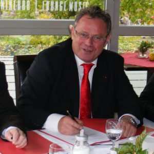 v.l. Christopher Schmidtke (Bündnisgrüne), Karl-Heinz Reimann (SPD), Otto Laakmann (FDP)